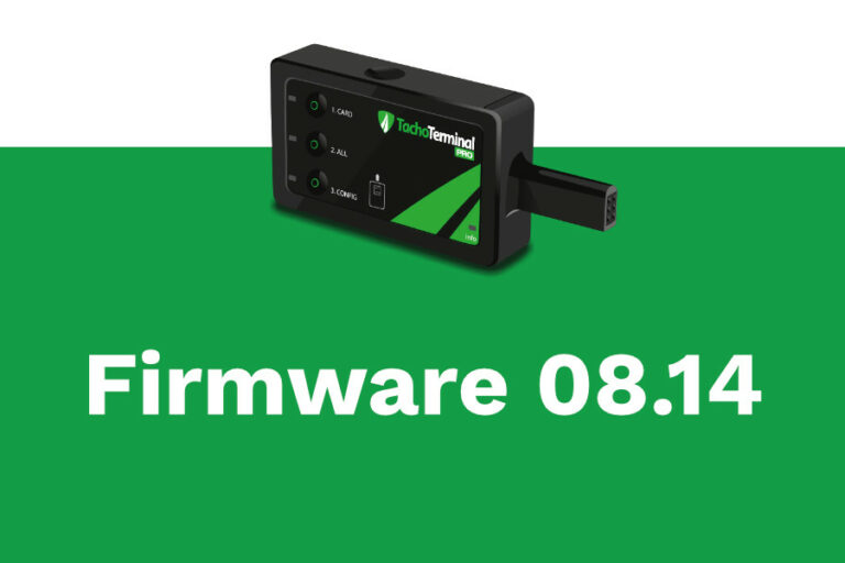 Firmware Tachoterminal Pro